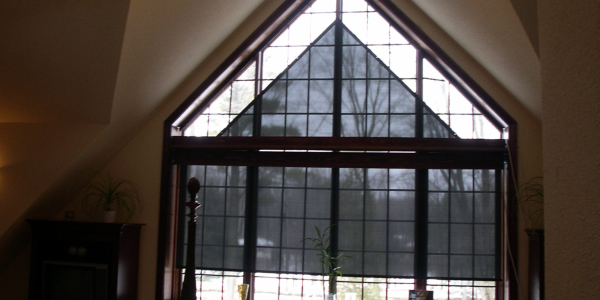 A Frame Window Shades In Oakville Concord Richmond Hill